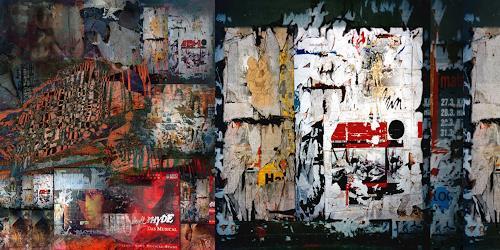 karl dieter schaller, vorläufig.plakat 4., Miscellaneous, Contemporary Art