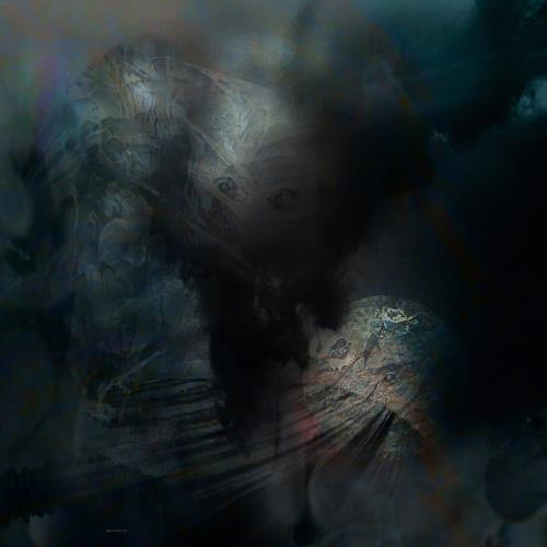 karl dieter schaller, encounter in the depth.v1.detail, Miscellaneous, Contemporary Art