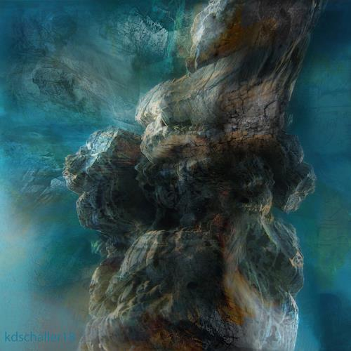 karl dieter schaller, stormy weather.v1, Miscellaneous, Contemporary Art, Abstract Expressionism
