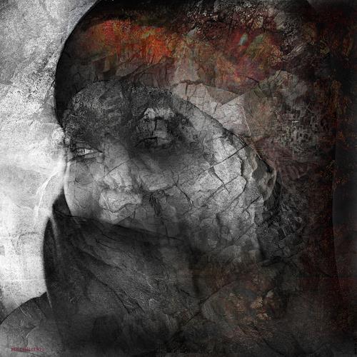 karl dieter schaller, night shadows 1.les affres de la vie., Miscellaneous, Contemporary Art, Expressionism