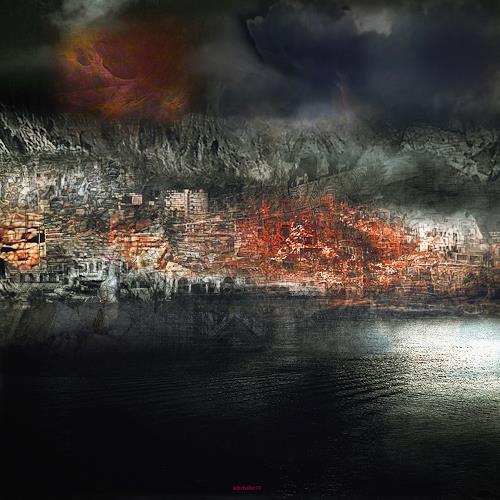 karl dieter schaller, europe.citadelle.béton armée. v2, Miscellaneous, Contemporary Art