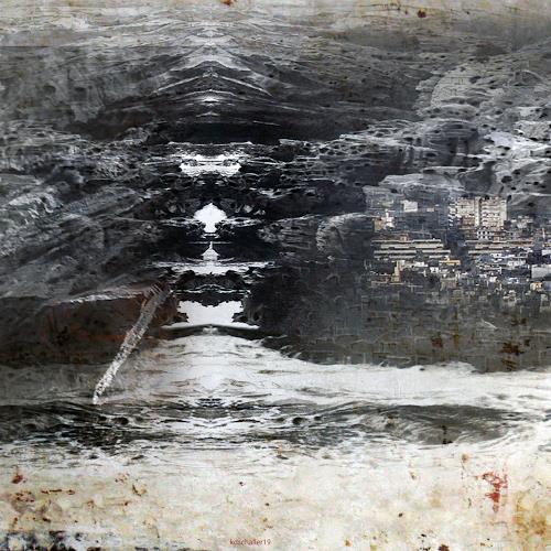 karl dieter schaller, desolation. detail. behind the wallpaper, Miscellaneous, Contemporary Art