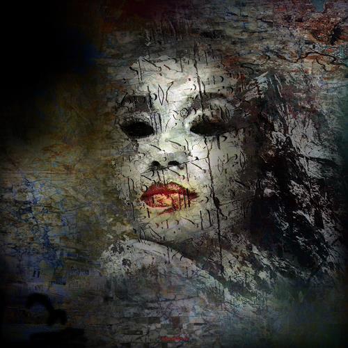 karl dieter schaller, harpie de nuit, la vie en rose.v1 detail, Miscellaneous, Contemporary Art