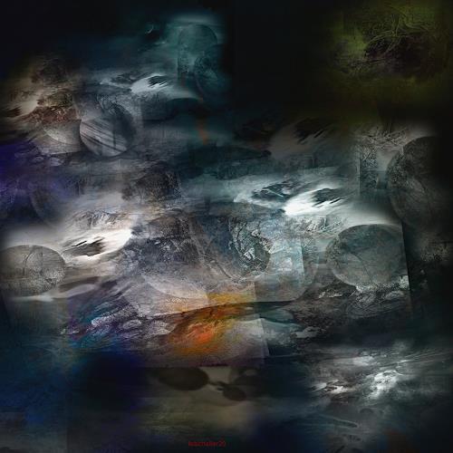 karl dieter schaller, conspiration. detail, Miscellaneous, Contemporary Art