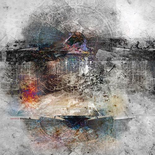 karl dieter schaller, dark heat 1, Miscellaneous, Contemporary Art, Expressionism