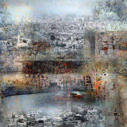 karl dieter schaller, townsheart 1. serie    un autre monde, Miscellaneous, Contemporary Art, Abstract Expressionism
