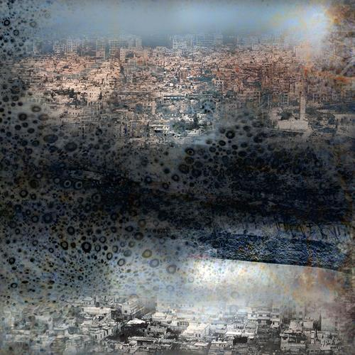 karl dieter schaller, pollution 1. le grand deuil, Miscellaneous, Contemporary Art, Abstract Expressionism