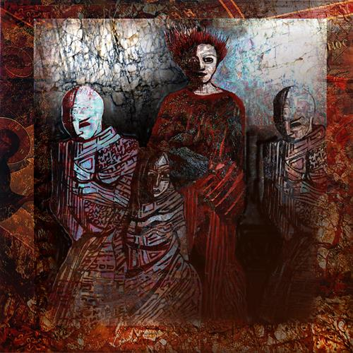 karl dieter schaller, lady macbeth and...., Miscellaneous, Contemporary Art, Abstract Expressionism