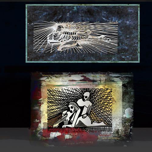 karl dieter schaller, blueprint x1. la fin des illusions 3, Miscellaneous, Contemporary Art
