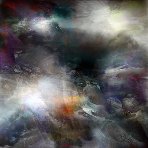 karl dieter schaller, GALACTIC TURMOIL.RCO6LU 1, Miscellaneous, Contemporary Art, Abstract Expressionism