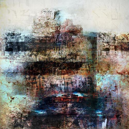 karl dieter schaller, hotel mamolibs.version 1, Miscellaneous, Contemporary Art, Abstract Expressionism