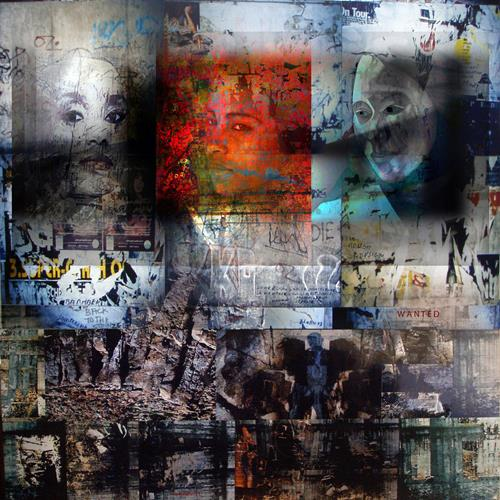 karl dieter schaller, reset. sorry, back on the dark side. v1, Miscellaneous, Contemporary Art, Abstract Expressionism