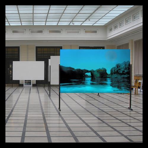 karl dieter schaller, leo-lippmann saal. en place, Miscellaneous, Contemporary Art