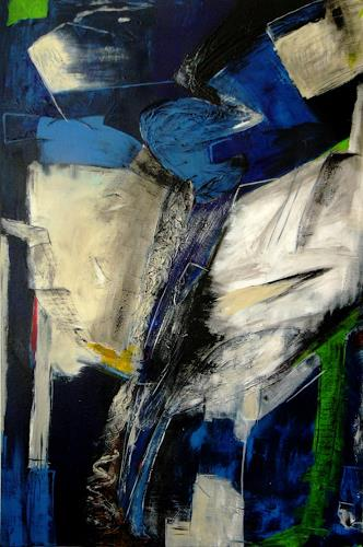 Bibi J, high in the sky, Abstract art, Contemporary Art