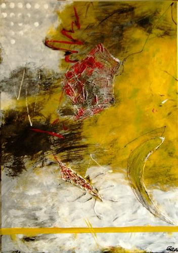 Bibi J, die andere Zeit, Abstract art, Contemporary Art, Abstract Expressionism