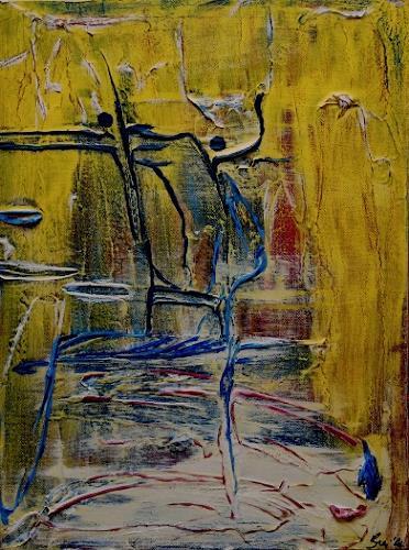 Bibi J, dancing tonight, Abstract art, Contemporary Art