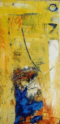 Bibi J, Licht über dem Wasser, Abstract art, Contemporary Art