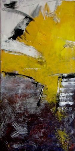 Bibi J, Treppe ins Licht, Abstract art, Miscellaneous, Contemporary Art
