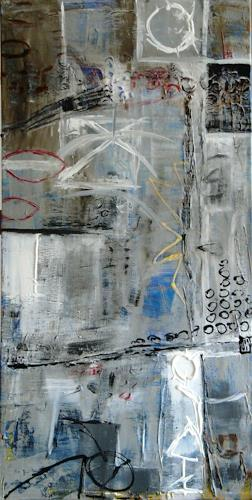 Bibi J, am Ende des Tages, Abstract art, Miscellaneous, Contemporary Art