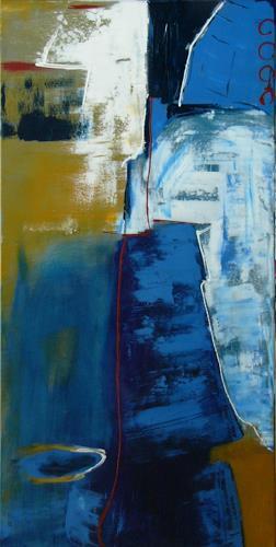 Bibi J, fern der Küste, Abstract art, Miscellaneous, Contemporary Art, Expressionism