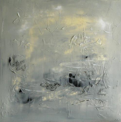 Bibi J, Anfang der Stille, Abstract art, Contemporary Art