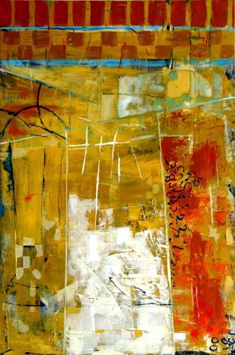 Bibi J, Arabian summer, Abstract art, Architecture, Contemporary Art