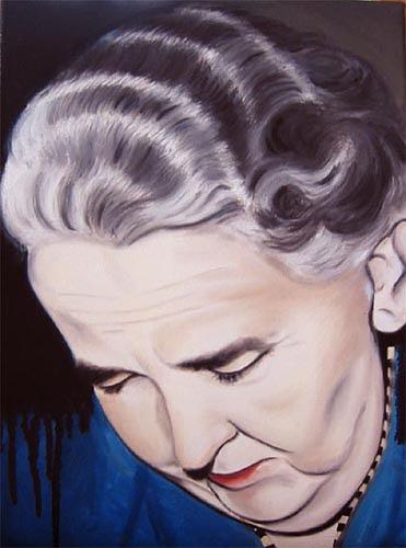 Thomas Kobusch, Es ist genug, People: Women, People: Portraits, Neue Sachlichkeit, Abstract Expressionism