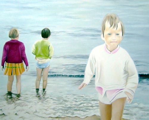 Thomas Kobusch, before the deluge, People: Children, Movement, Neue Sachlichkeit, Expressionism