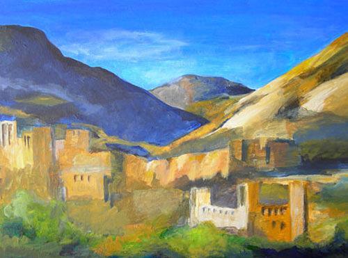 Nicole Mühlethaler, landschaft, Landscapes: Hills, Miscellaneous Landscapes