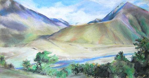 Nicole Mühlethaler, Tibet, Nature: Miscellaneous, Landscapes: Mountains