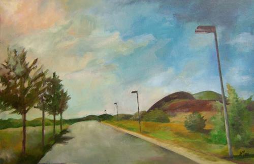 Nicole Mühlethaler, on the road, Miscellaneous Landscapes, Miscellaneous