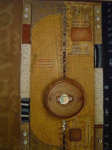 Ute Koité-Herschel, La divination de la calebasse par les peuls, Religion, Abstract Art, Expressionism