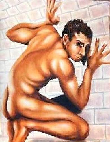 Els Eichholzer Art Erotic motifs: Male nudes Miscellaneous People .