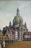 e. sünder, Frauenkirche Dresden, nach Canaletto