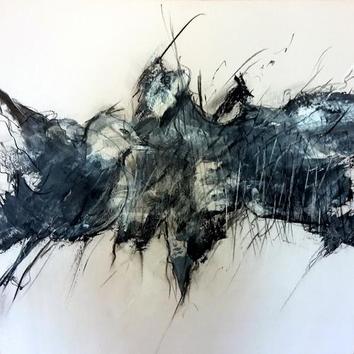 Judith SAUTHIER-Däppen, N/T, Animals: Air, Impressionism