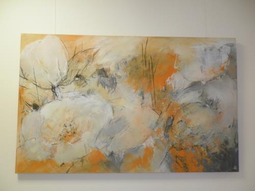 Judith SAUTHIER-Däppen, Blumen, Still life, Abstract Art