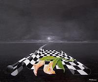 Kenneth-Edward-Swinscoe-1-Miscellaneous-Landscapes-Fantasy-Modern-Age-Symbolism