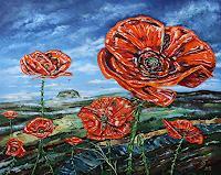 Ulf-Goebel-Plants-Flowers-Miscellaneous-Landscapes-Modern-Age-Impressionism-Neo-Impressionism