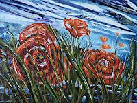 Ulf-Goebel-Miscellaneous-Landscapes-Plants-Flowers-Modern-Age-Impressionism-Neo-Impressionism