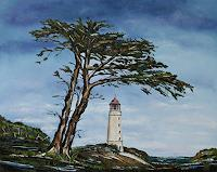 Ulf-Goebel-Landscapes-Sea-Ocean-Plants-Trees-Contemporary-Art-Contemporary-Art