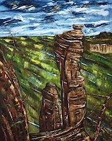 Ulf-Goebel-Landscapes-Mountains-Nature-Miscellaneous-Modern-Age-Impressionism-Neo-Impressionism