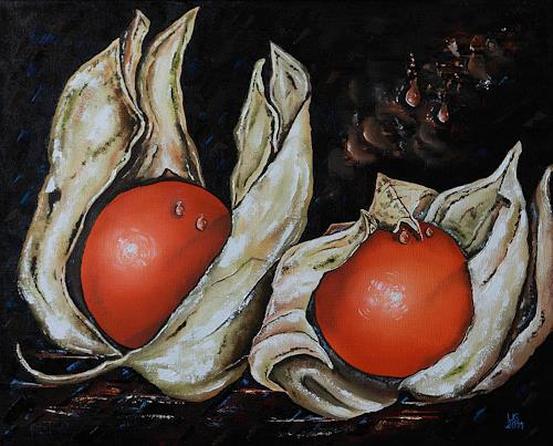 Ulf Göbel, Obhut, Still life, Plants: Fruits, Contemporary Art, Expressionism