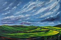 Ulf-Goebel-Landscapes-Spring-Landscapes-Hills-Modern-Age-Impressionism-Neo-Impressionism