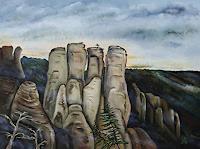 Ulf-Goebel-Landscapes-Mountains-Nature-Rock-Contemporary-Art-Contemporary-Art
