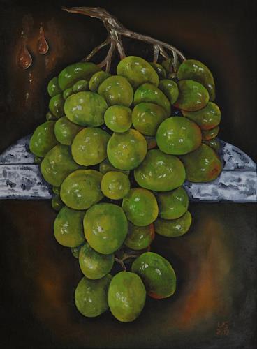 Ulf Göbel, Gutedel II, Plants: Fruits, Still life, Realism