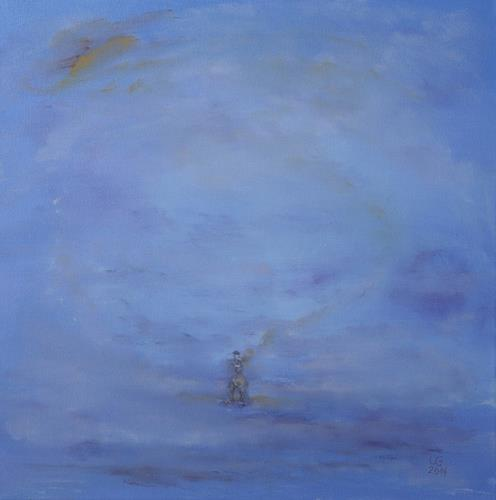 Ulf Göbel, Petri,my Friend..., Miscellaneous Landscapes, Emotions: Grief, Abstract Art