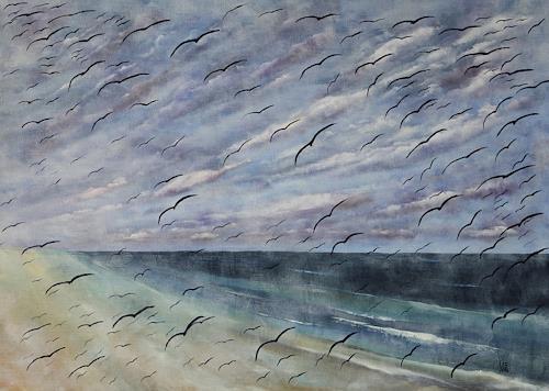 Ulf Göbel, Über den Wolken..., Miscellaneous Landscapes, Emotions: Grief, Contemporary Art