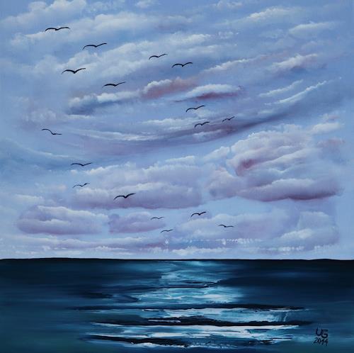 Ulf Göbel, Nach Süden XV, Landscapes: Sea/Ocean, Nature: Miscellaneous, Contemporary Art