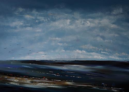 Ulf Göbel, Nach Süden VII, Landscapes: Sea/Ocean, Nature: Miscellaneous, Contemporary Art