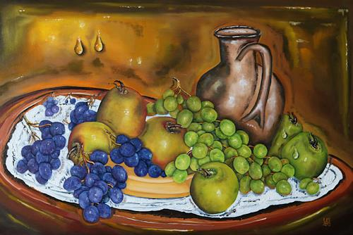 Ulf Göbel, Frisch, Still life, Plants: Fruits, Realism